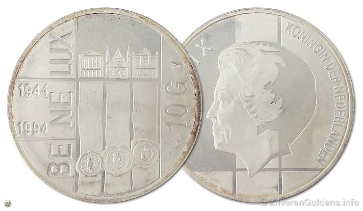 Herdenkingstientje - 10 gulden 1994