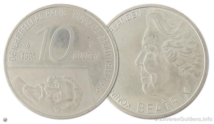 Herdenkingstientje - 10 gulden 1995