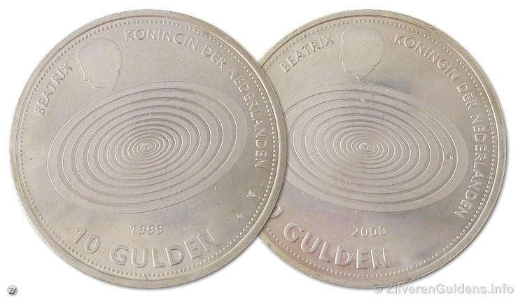 Herdenkingstientje - 10 gulden 1999
