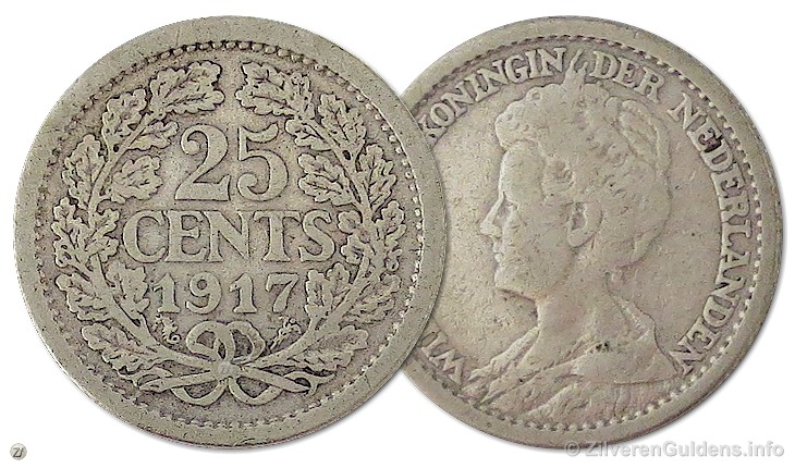 Kwartje - 25 cents