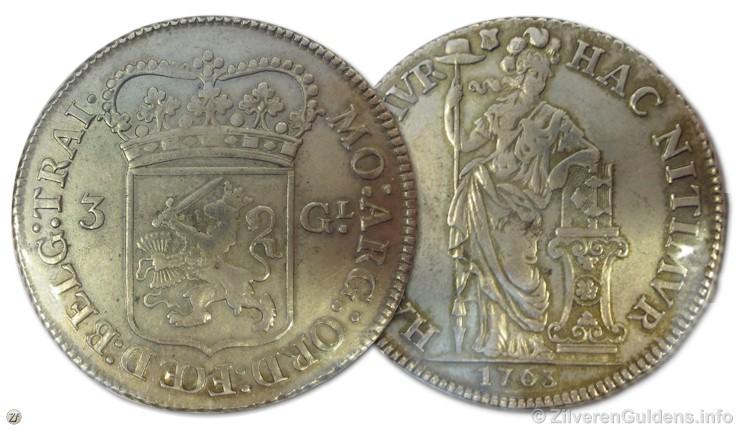 3 gulden 1763