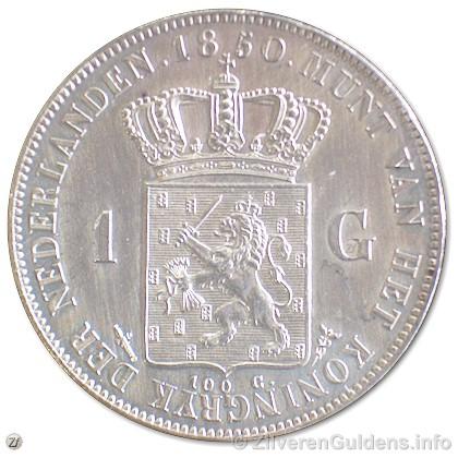 Guldens - schaars jaar 1850